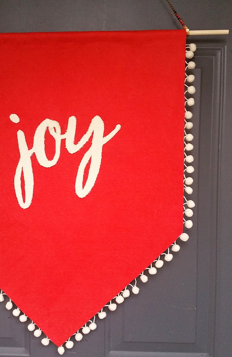 Joy Holiday Banner