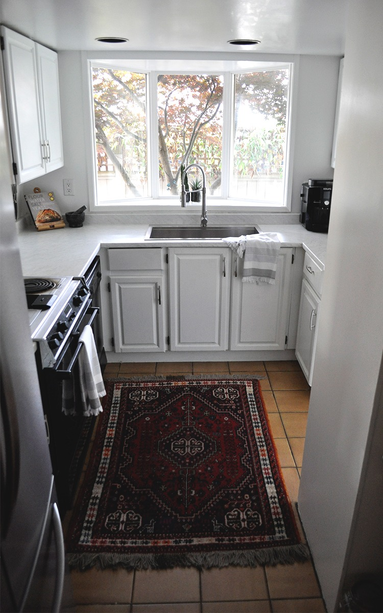See how one change made a difference in this kitchen makeover a plentiful life - Kitchen wow mini makeovers ...