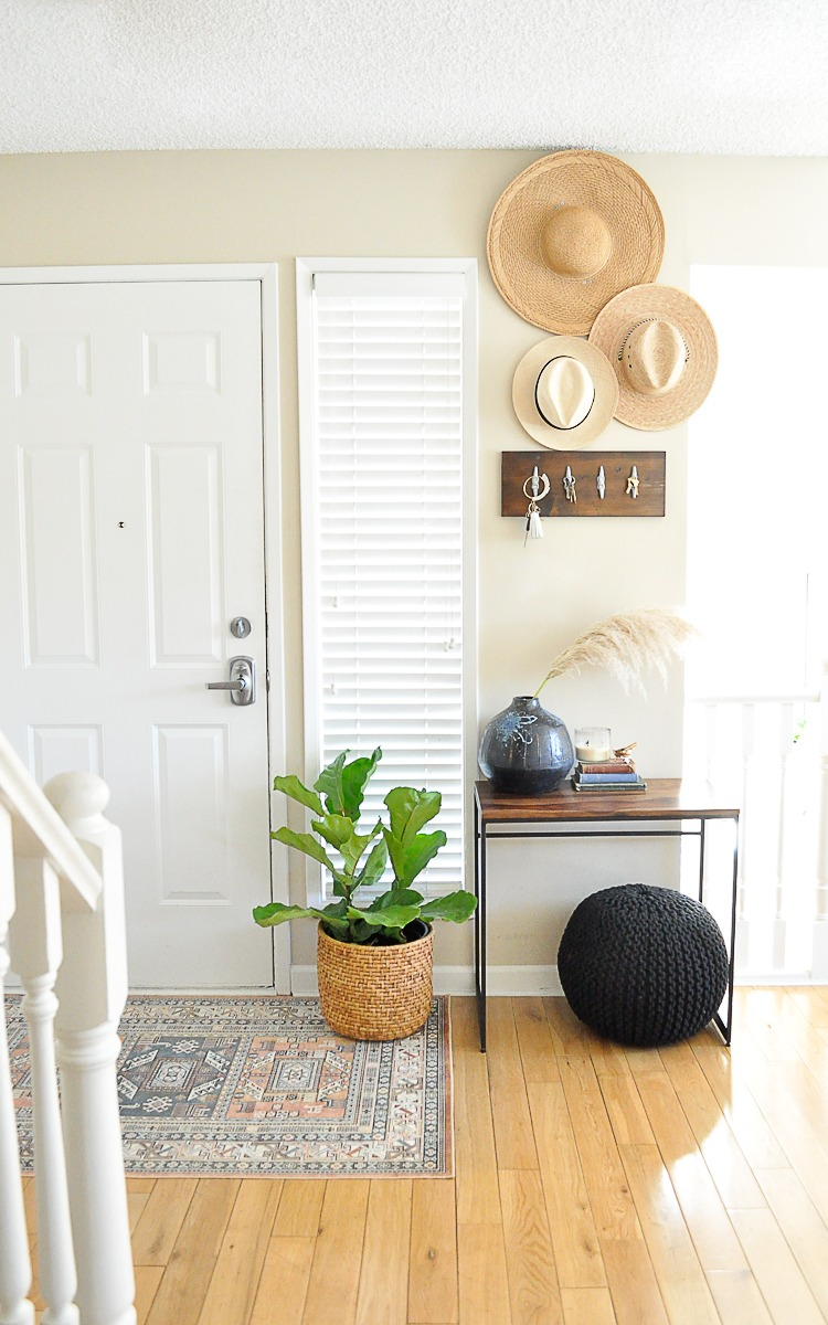 Entryway Makeover on a Budget