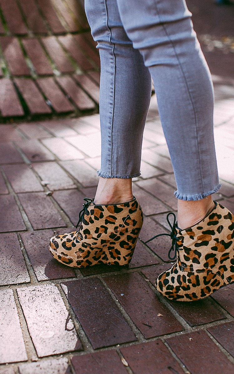 Leopard Print Booties for Fall