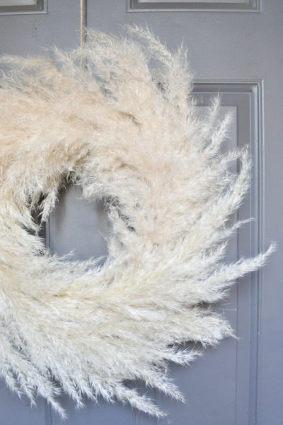 Pampas Grass DIY Wreath for Fall