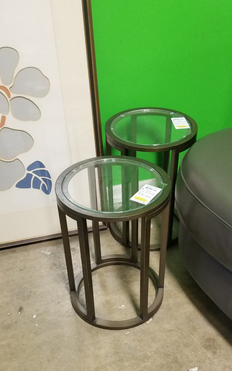 DIY Upcycled Side Tables from Rust-Oleum