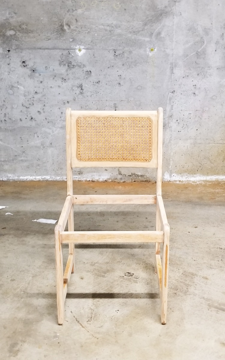 DIY chair before painting