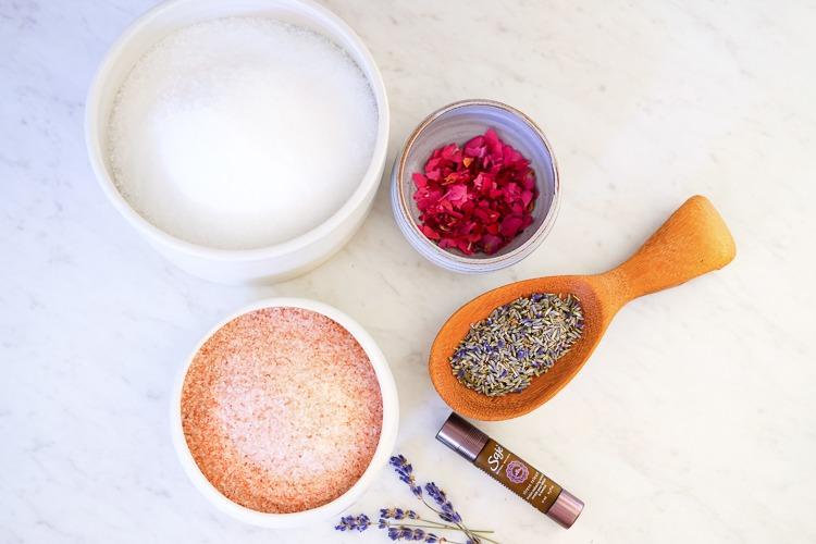 DIY bath salts, easy and affordable