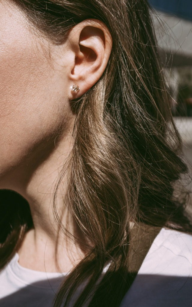 hermiker diamond earrings