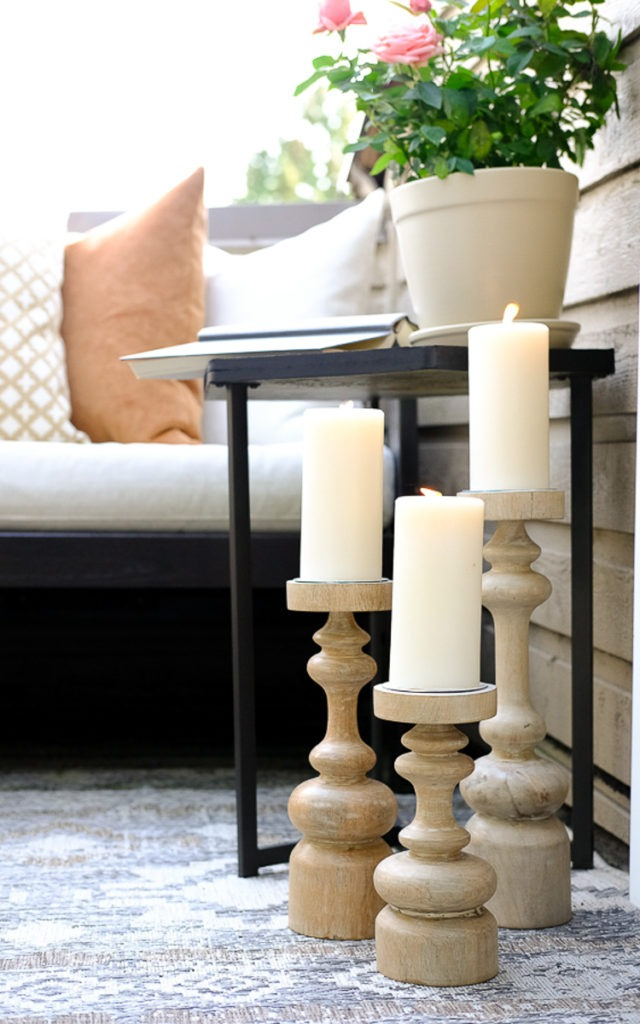 patio candleholders