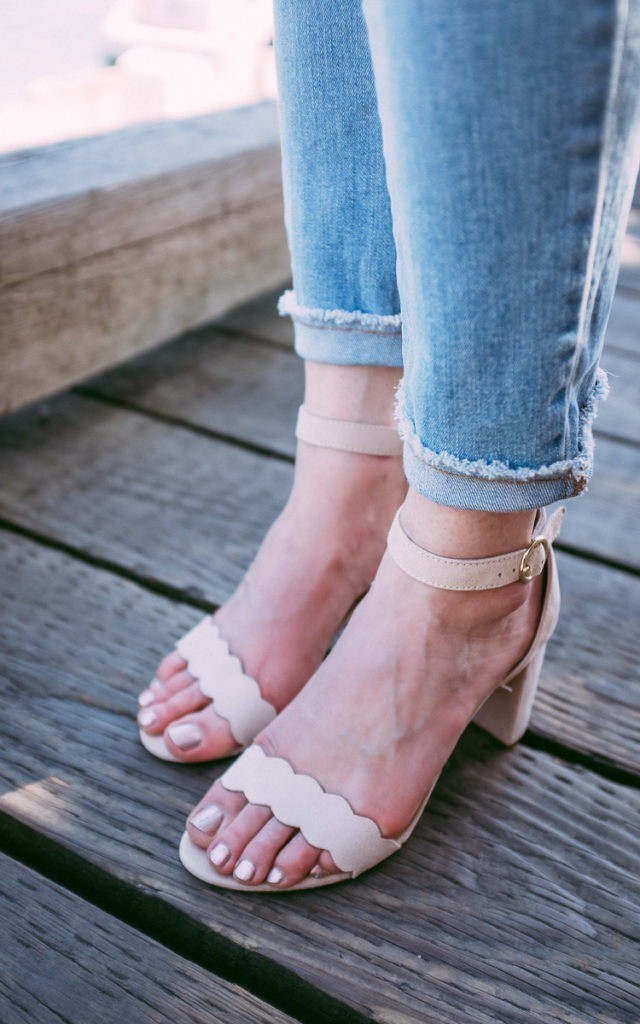 blush heels for summer