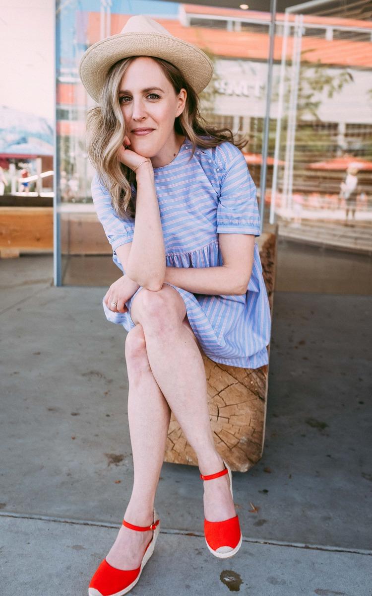 Summer OOTD Thrifted Dress