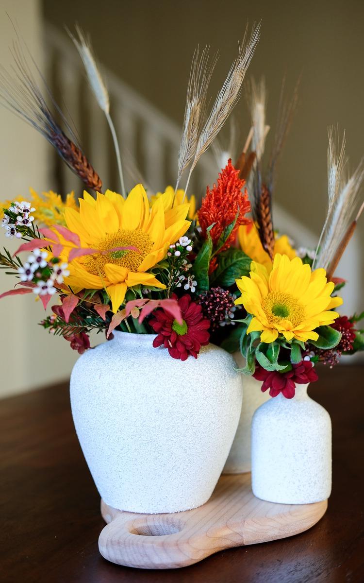 DIY fall vase