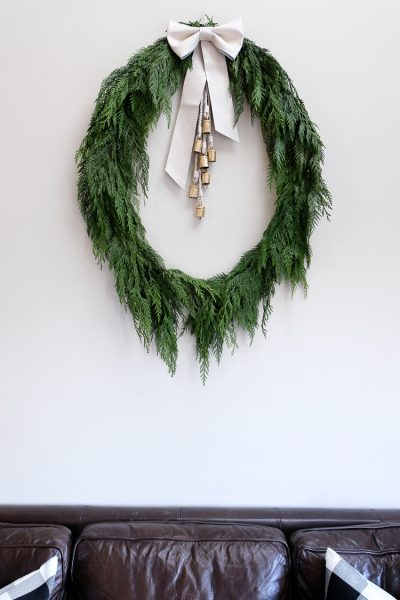 Easy Holiday Wreath