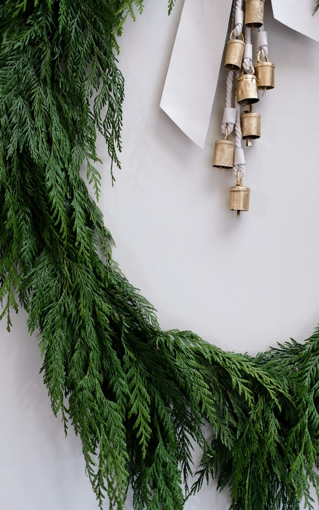 Vintage BellsDIy Holiday Wreath