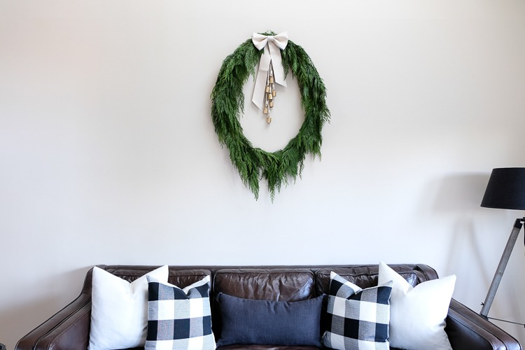 DIY Holiday Wreath Reveal