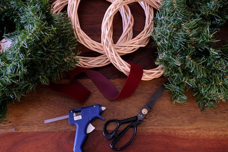 Materials for DIY garland