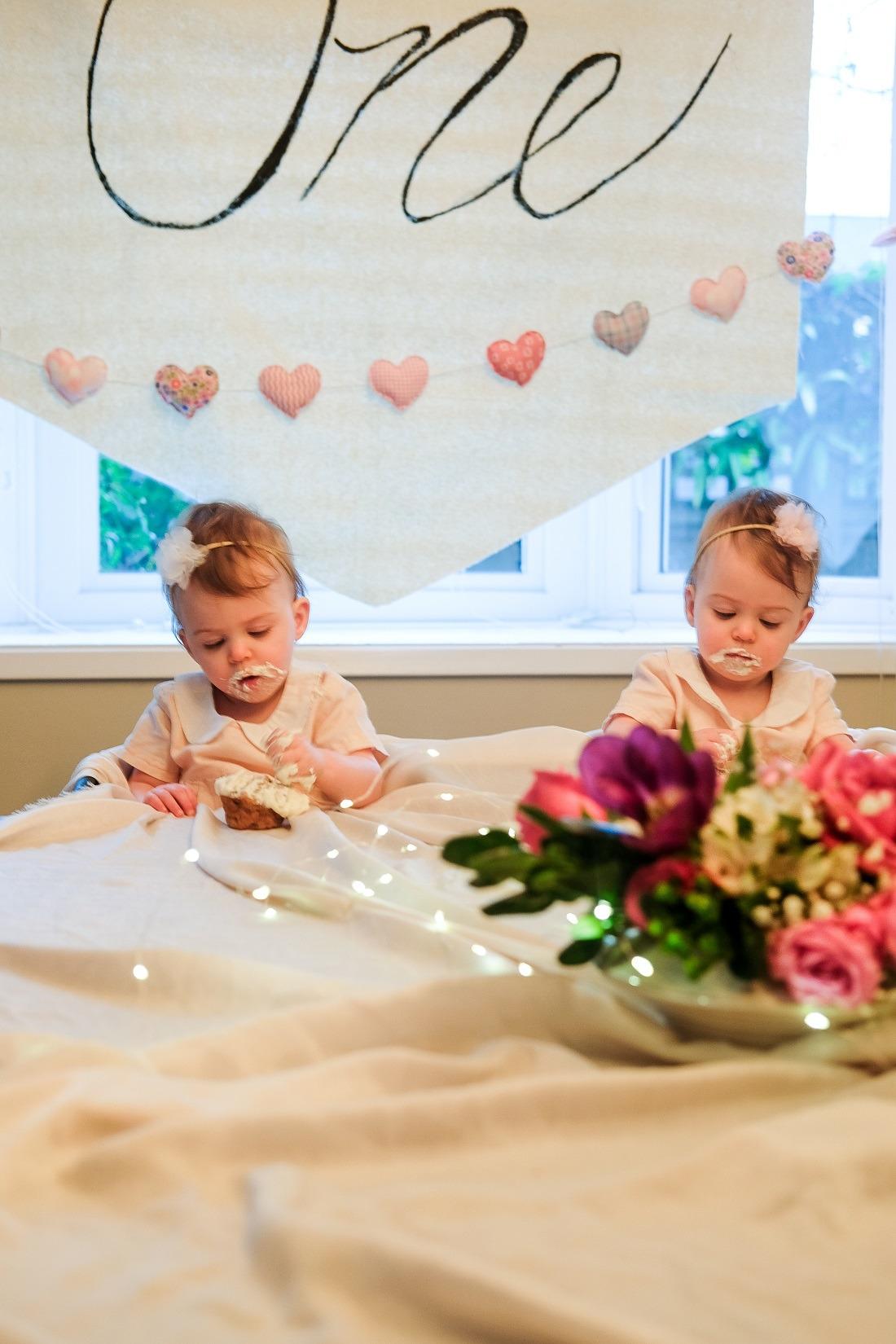 twin first birthday