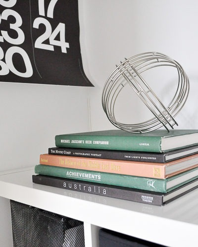 Easy hack to create a vintage book decor