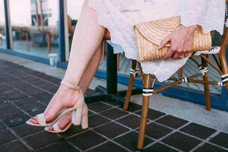 Summer style ootd white dress