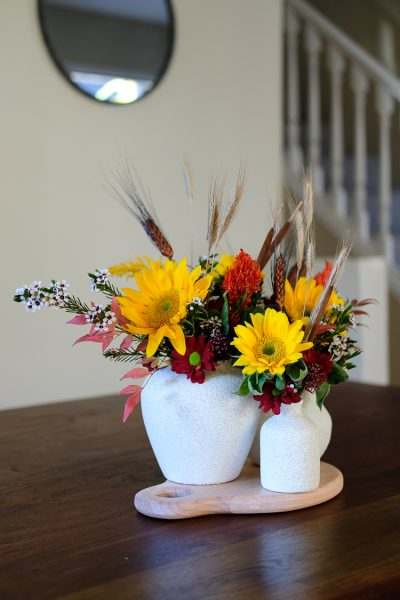 Fall DIY vase